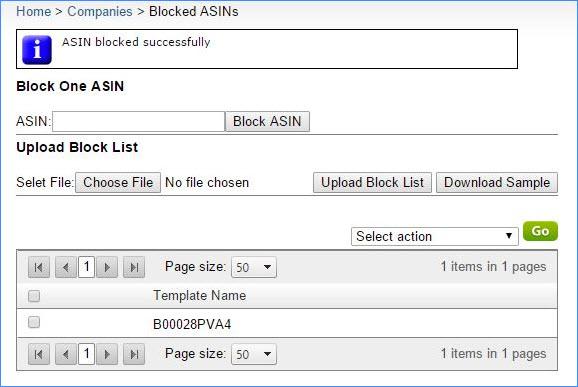sellercloud asin management blocking asins