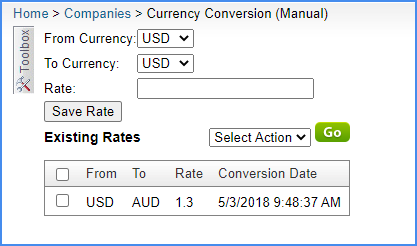 sellercloud currency conversion international child company