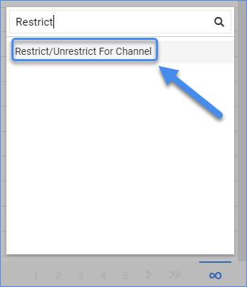 sellercloud manage catalog restrict unrestrict products for channel