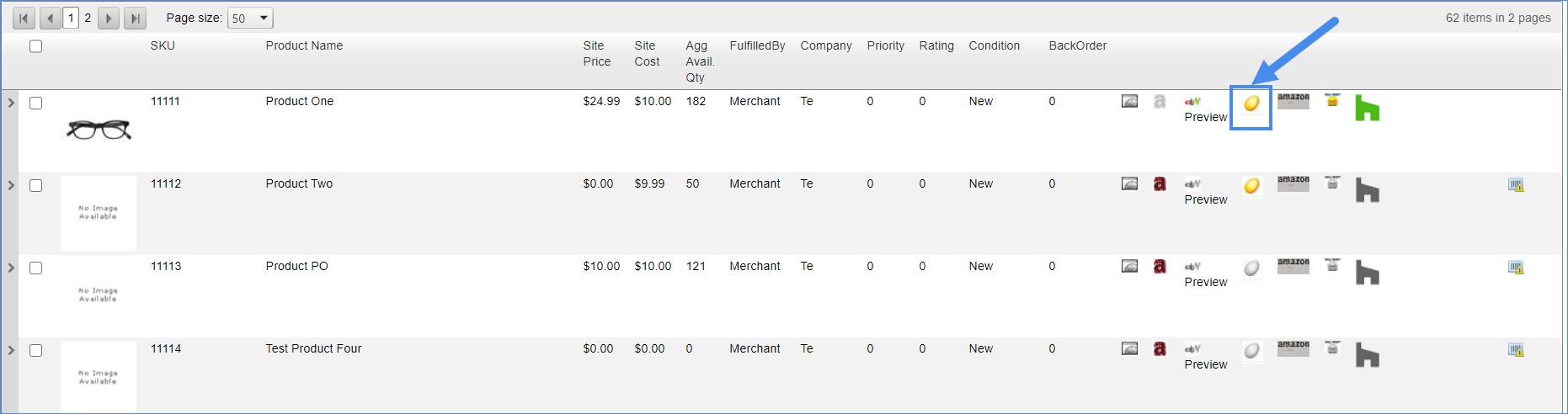 newegg properties product sellercloud
