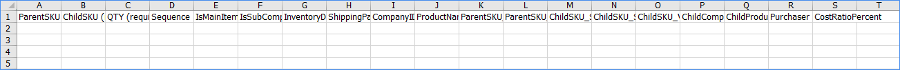 sellercloud import product info import kits excel template example