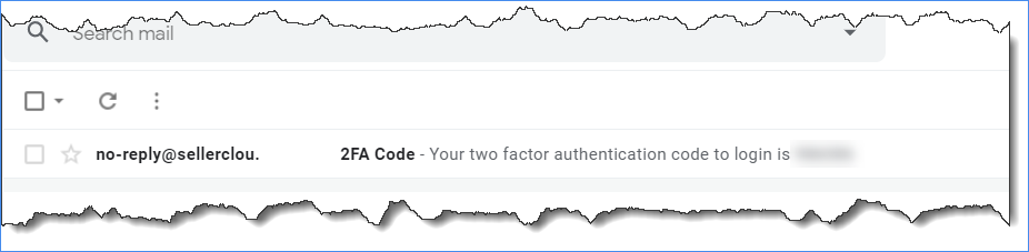sellercloud 2fa code in email