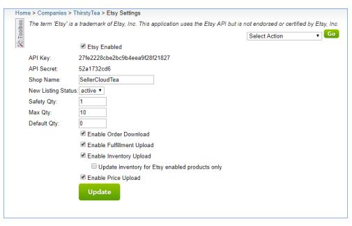 sellercloud alpha etsy settings