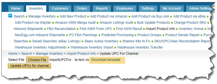 sellercloud alpha multiple ups for channels