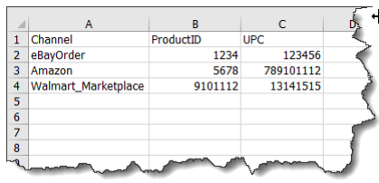 sellercloud alpha upc in bulk example excel template