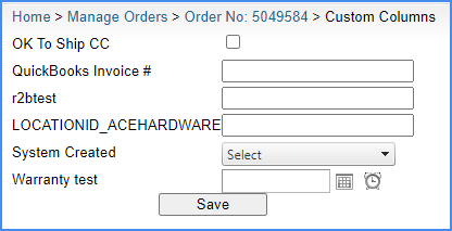 sellercloud original interface custom columns order details page order management order