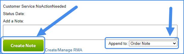 sellercloud order details order management order details page order notes
