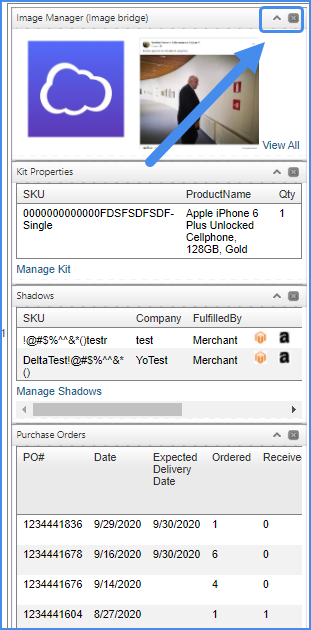 sellercloud alpha original panels product details page