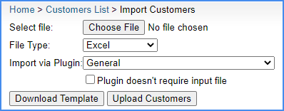 import customers