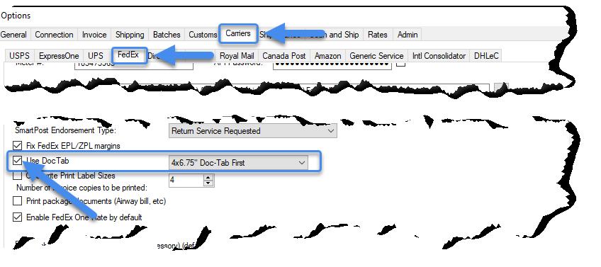 Configuring label orientation
