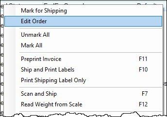 edit order