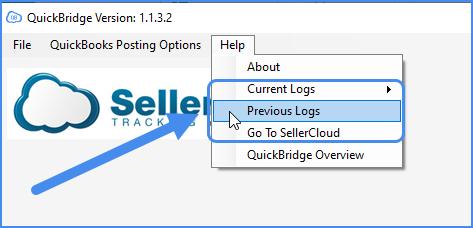 quickbridge event and posting log