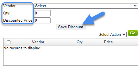 sellercloud applying vendor quality discount