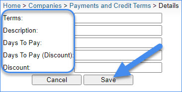 sellercloud add new payment