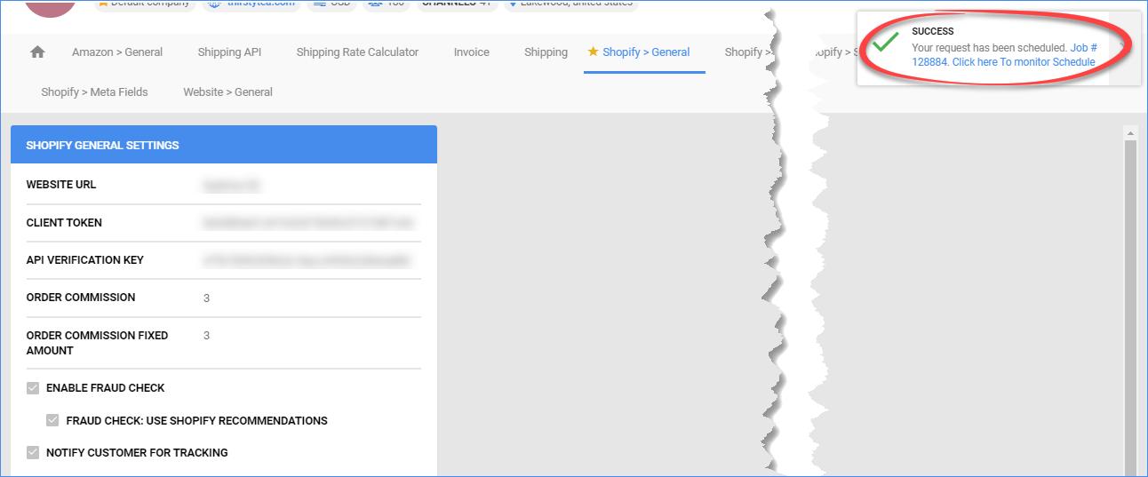 sellercloud shopify download listings
