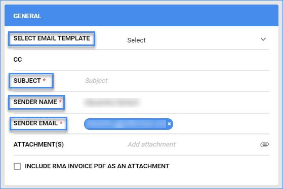 sellercloud completed order details send rma via email