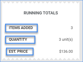 sellercloud create new order add products running totals