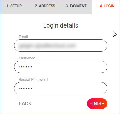 Login information for a Memaila account