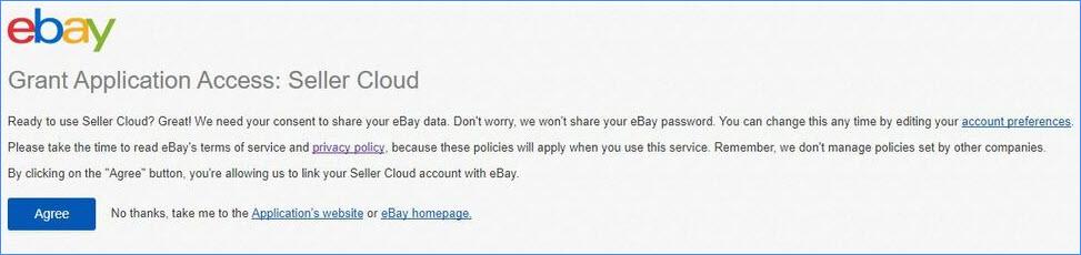 sellercloud alpha ebay grant access