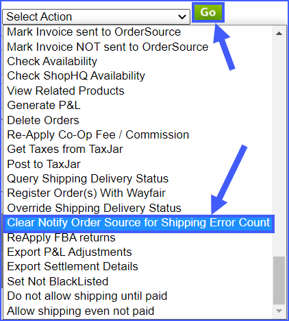 clear notify order source for shipping error count