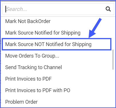 mark source not notified for shipping delta interface sellercloud