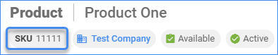 SKU Product ID Delta